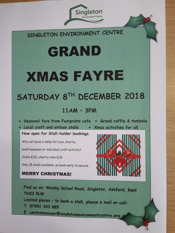 Grand Christmas Fayre 2018