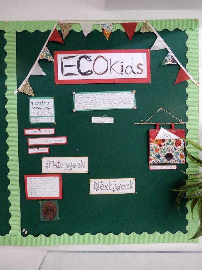 ECOkids noticeboard