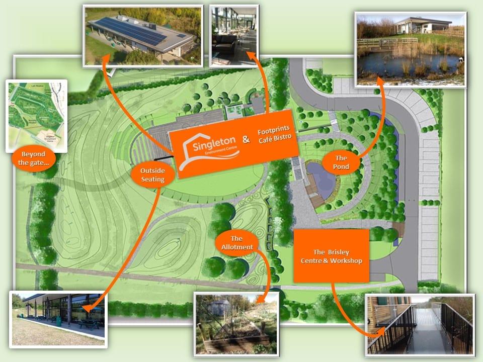 Singleton Environment Centre Map